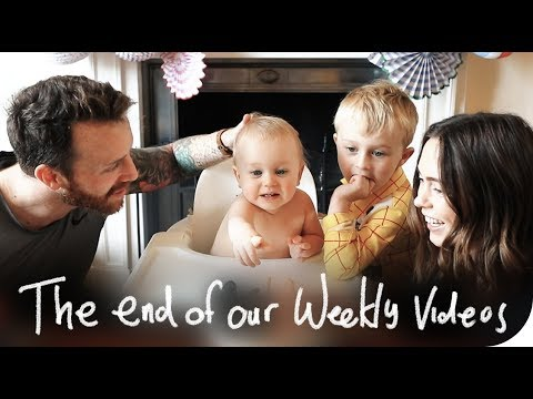WE'RE ENDING OUR WEEKLY VIDEOS | THE MICHALAKS