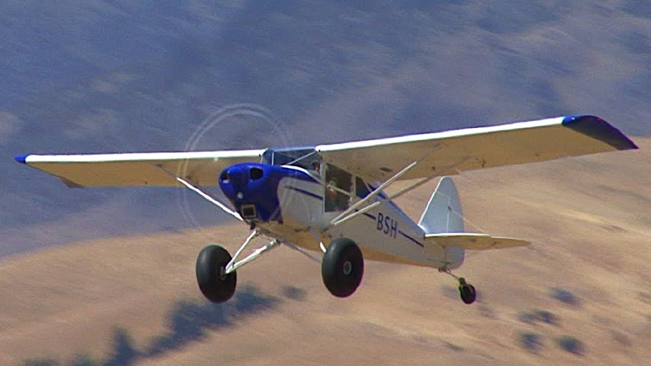 Low and Slow STOL aircraft