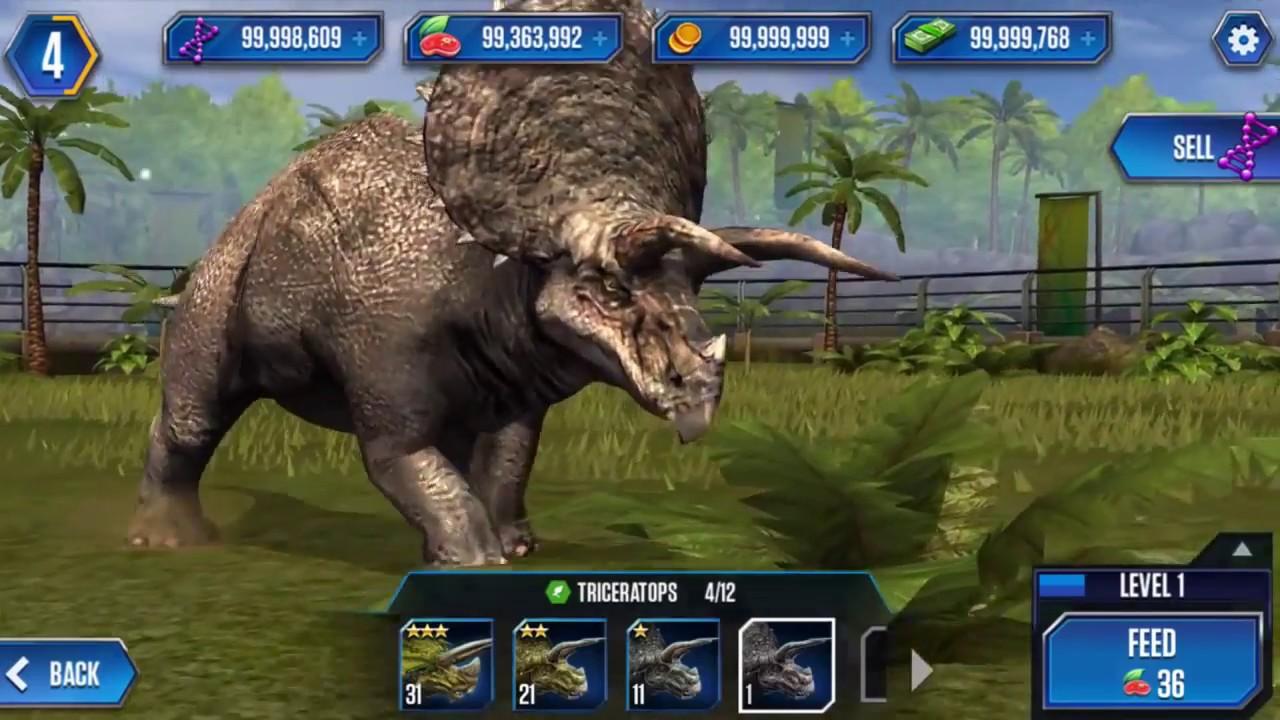 Download Jurassic World Mod Apk-Get Unlimited [Money+Gems+Tools]