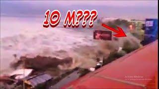 Detik detik tsunami palu Tsunami palu indonesia 2018
