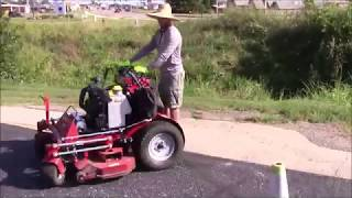 Ferris Z3X 52'' Mowing A Small Commercial Property