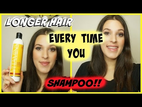 Longer Hair By Just Shampooing?! Nourish Beaute Vitamin Shampoo For Hair Growth Review