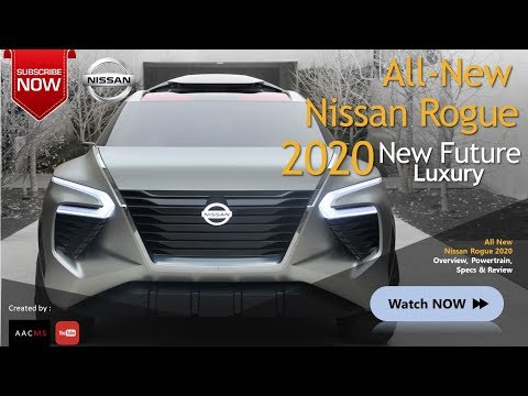 The 2020 Nissan Rogue, it's SUV New Luxury
