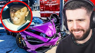 The Most Expensive Supercar Crashes