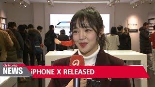 Gambar cover Apple's iPhone X finally lands in Korea