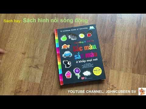 Sách - A rainbow book of learning - Cầu vồng kiến thức - Sắc màu, sắc màu ở khắp mọi nơi