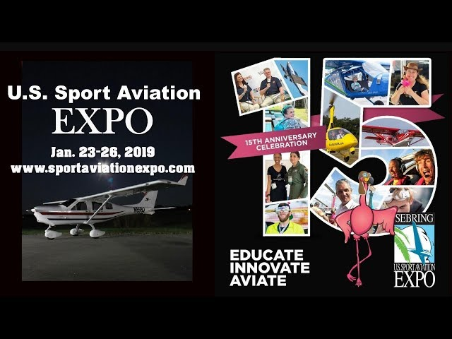 Jabiru Aircraft, Jabiru Light Sport Aircraft ,Sport Aviation Expo, Sebring Florida