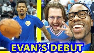 JACOB EVANS NOTABLE NBA SUMMER LEAGUE DEBUT! JORDAN BELL, KENDRICK NUNN, & JONES DOMINATE VS KINGS