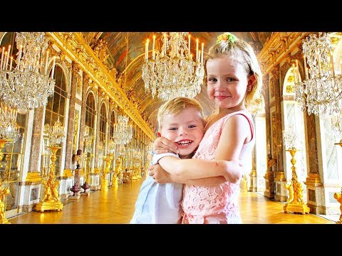 Funny Family Vlog Overview Versailles Palace Paris France Holiday Video travel Helen  ne, Channel
