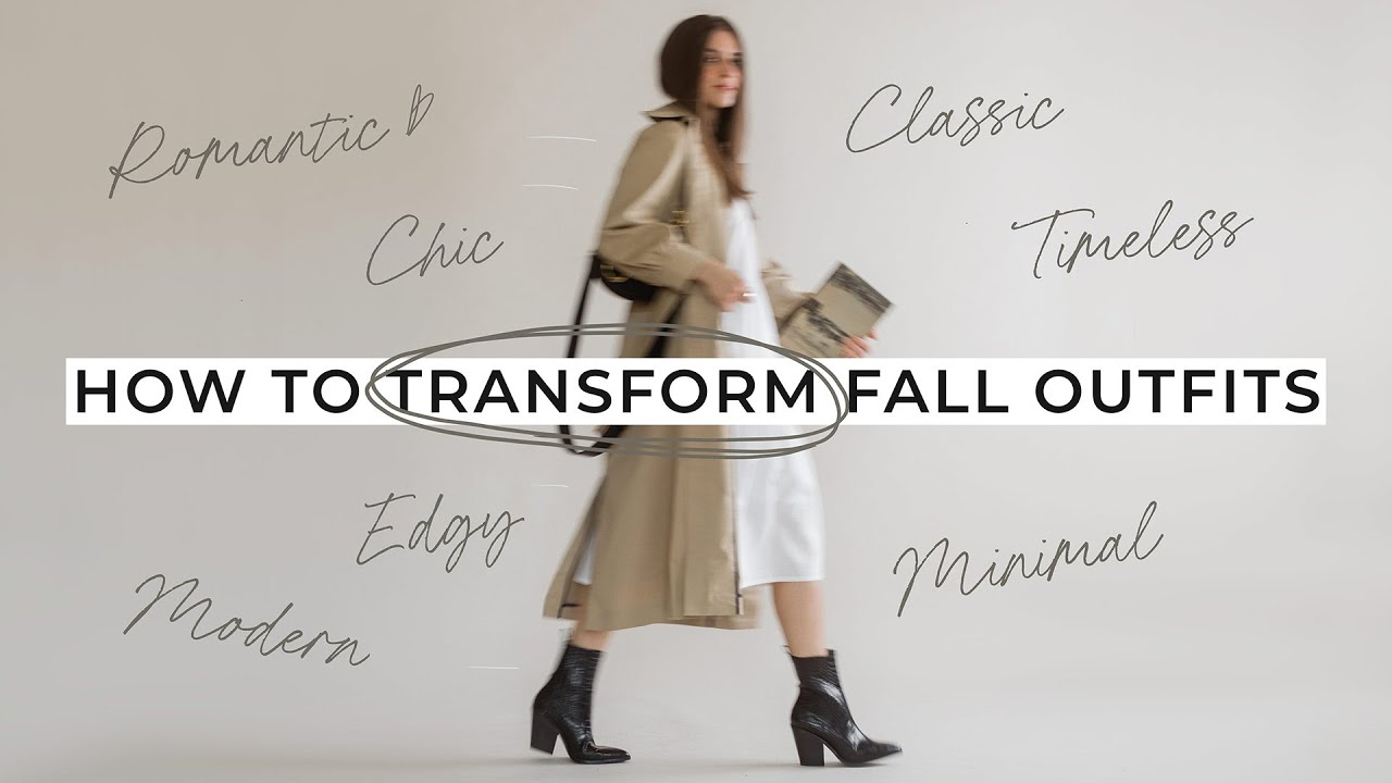 How To Build Elevated Fall Outfits: Chic, Edgy, Romantic, & Minimalist Styles
