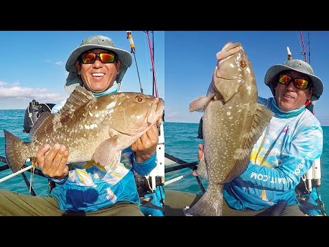 Florida Keys Patch Reef Fishing - Nuttin But Groupers
