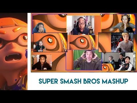 Super Smash Bros. for Nintendo Switch Reveal Trailer Reaction Mashup