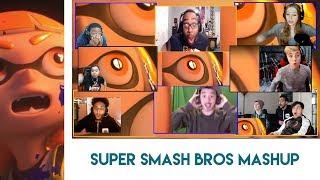 Super Smash Bros. for Nintendo Switch Reveal Trailer Reaction Mashup