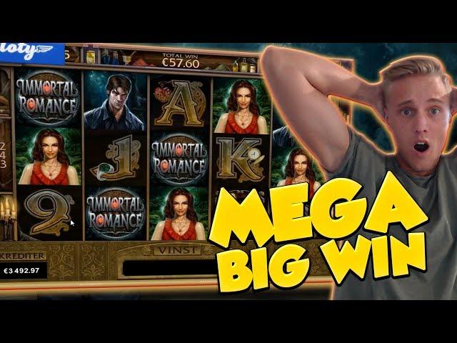 BIG WIN!!!! Immortal Romance Big win - Casino - Huge Win (Online Casino)