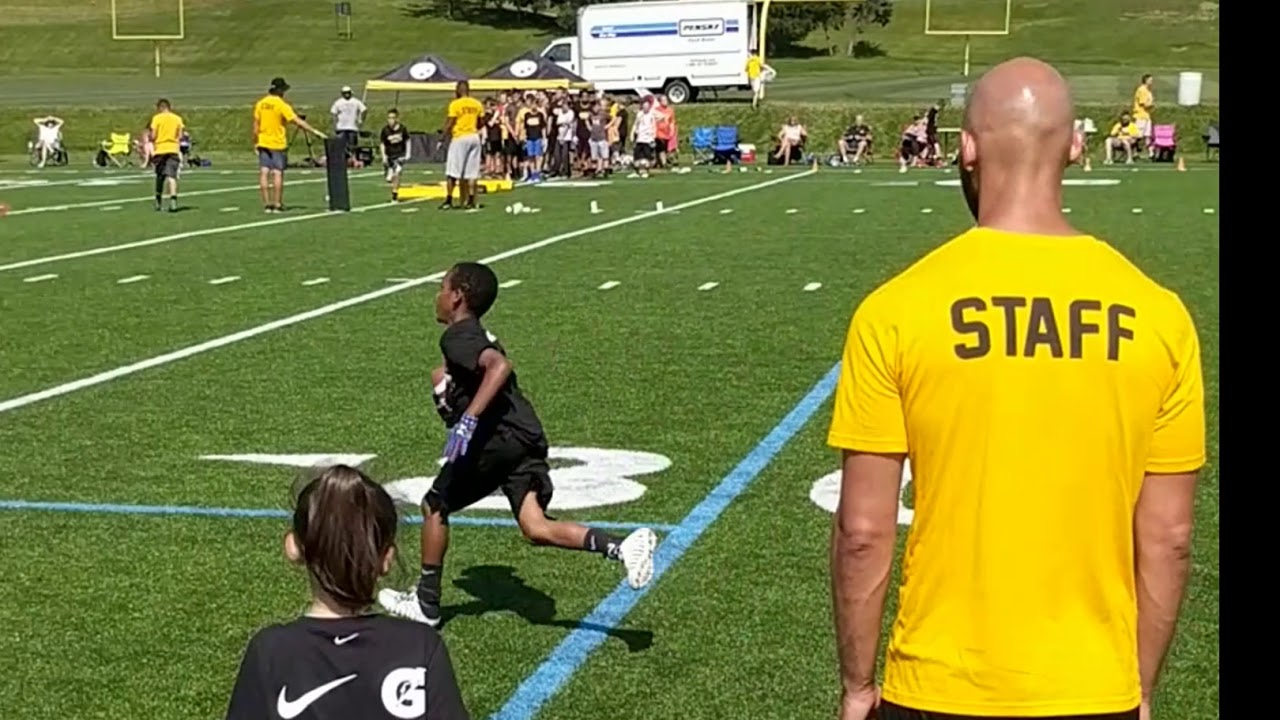 Pittsburgh Steelers 2018 Youth Football Camp YouTube