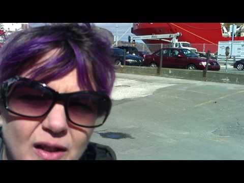 Interview w/ Liz Solo @ St.John's harbourfront, Newfoundland