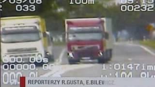 Wydarzenia - szaleni kierowcy tirów / NEWS - crazy truck drivers in Poland