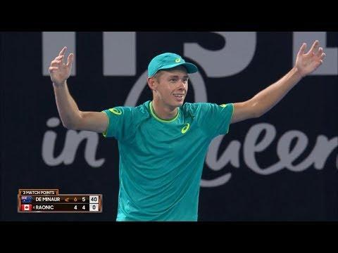 ATP Match Highlights Night Session Day 4 | Brisbane International 2018