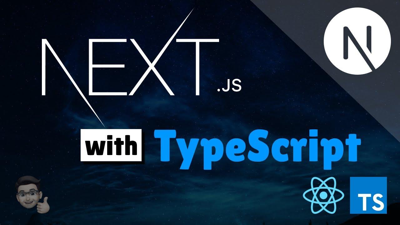 Introducing NextJS with TypeScript