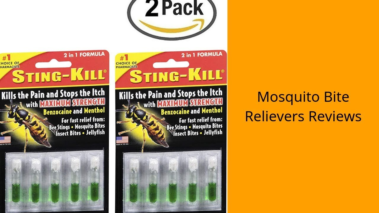3 Best Mosquito Bite Relievers You Can Buy 2019 - Mosquito Bite Relievers  Reviews