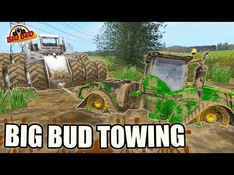 TRACTOR CLEAN UP   TOWING TUESDAY   MUDDY MESS   FARMING SIMULATOR 2017