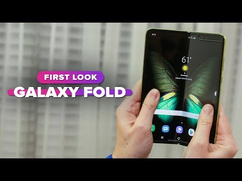 Samsung Galaxy Fold: First Look