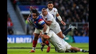 First Half Highlights: England v France | Guinness Six Nations