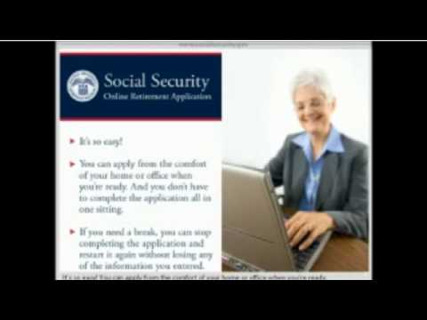 Applying Online for Social Security Retirement Benefits