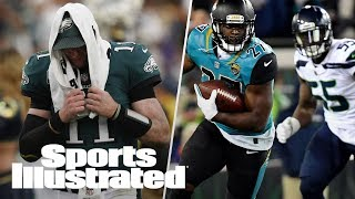 Should Seahawks Players Have Been Suspended? Eagles After Carson Wentz | PFN | Sports Illustrated
