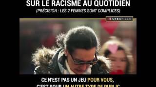 (Français) Une caméra cachée capture la réaction des gens contre le racisme #Estleracism