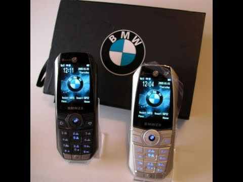 Full Metal Body Bmw Z8 3 Dual 2 Sim Cell Phone Mobile Youtube