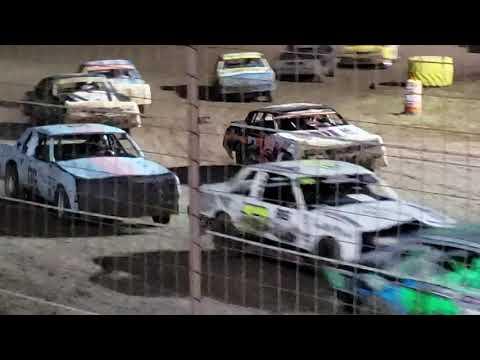 Hobby stock feature Salina Speedway 9.27