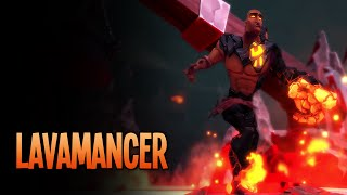 Meet the Lavamancer | Dungeon Defenders II