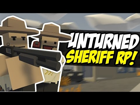 SHERIFF FUDGY - Unturned RP (Police Roleplay)