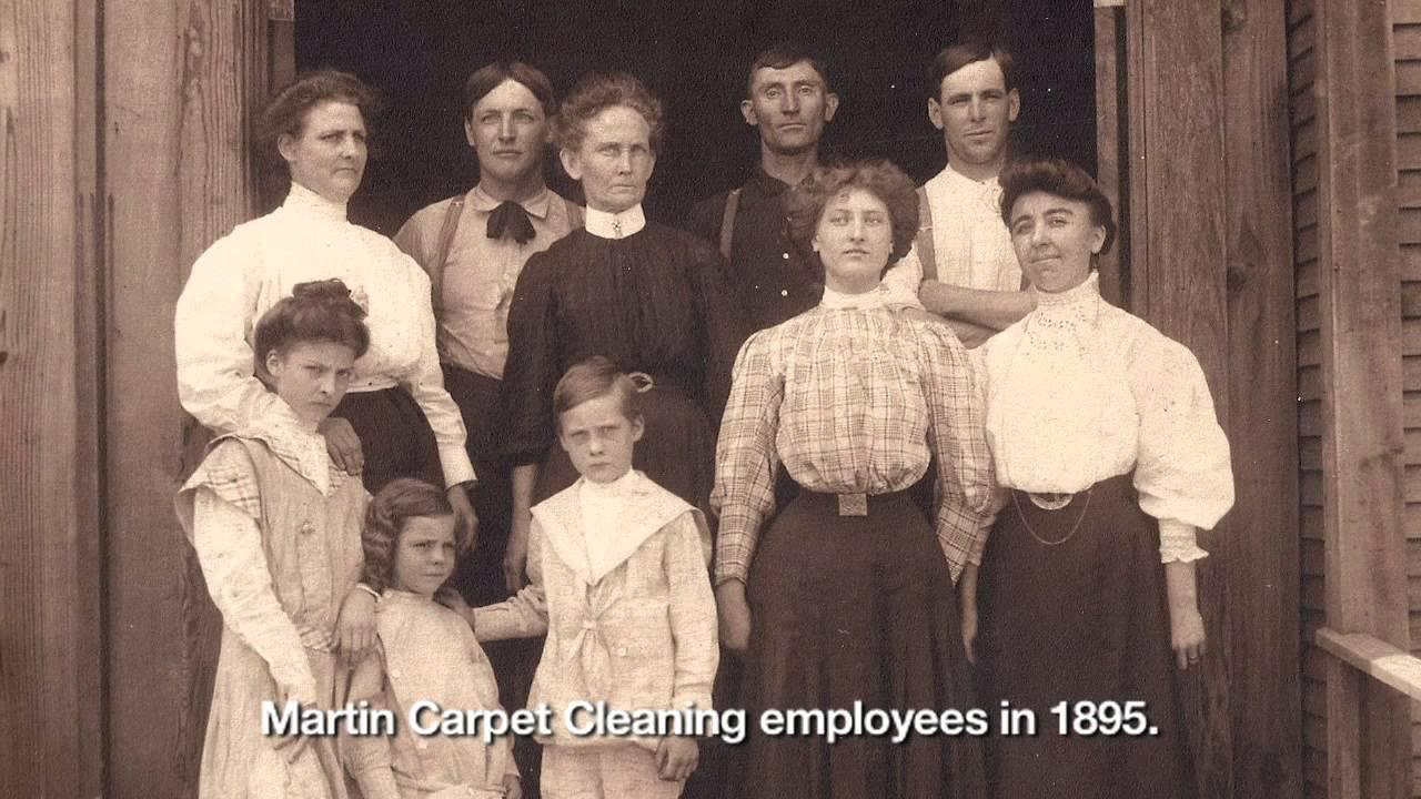 Company History - Martin Carpet Cleaning