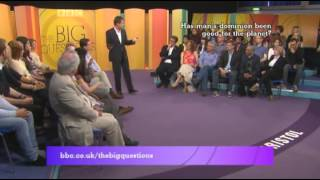 Has man's dominion been good for the planet? BBC Big Questions debate.