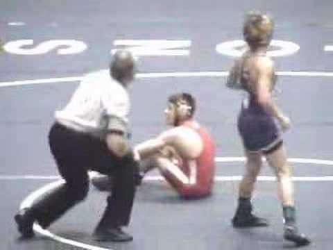 2008 NYSPHSAA D1 Wrestling Championships 96 lb Finals