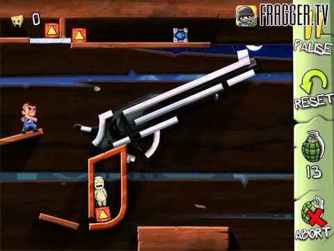 Fragger Monster Dash Level 23 Walkthrough