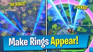 Fortnite How To Fix *ALL* Glitched Fortbytes 04, 67, 70, 89 (Make Rings Appear)