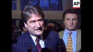 ALBANIA: PRESIDENT SALI BERISHA TRIES TO WIN BACK POPULAR SUPPORT