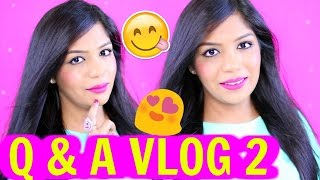 Q & A VLOG 2- Indian Inlaws, Success , Possessive Husband & More | SuperPrincessjo