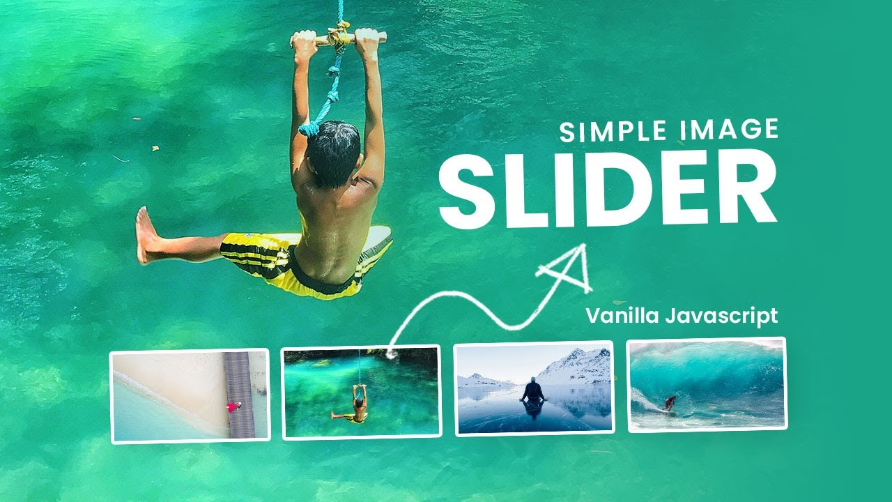 Creating a Simple image slider using CSS & Javascript | Image Slideshow