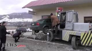Վանաձորում զինվորականը իր մեքենայով ներխուժել է խանութ սպասասրահի մեջ
