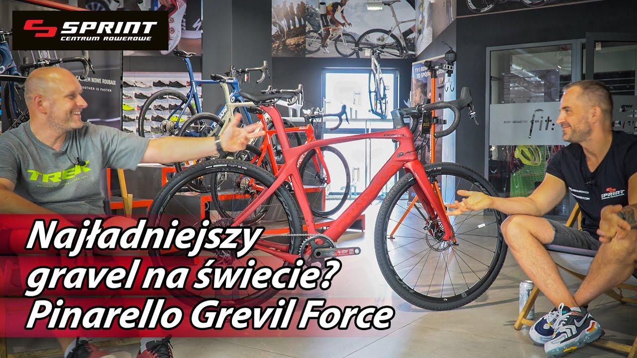*NAJŁADNIEJSZY* gravel na świecie! Włoski Pinarello Grevil Force