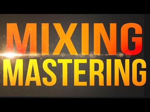 Mixing And Mastering - The Secret Key To Success - Service Preview