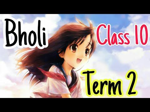 Download Bholi   Class 10   Explanation हिंदी में   Chapter 9   Footprints Without Feet  YouTube  NCERT 