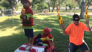 Kid Heroes 2  - The Flame and The New Fire Engine