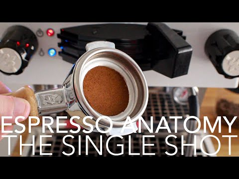 ESPRESSO ANATOMY - The Single Shot