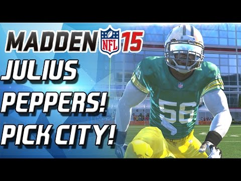 Madden 15 Ultimate Team - JULIUS PEPPERS! THE PEPPER MAN! - MUT 15