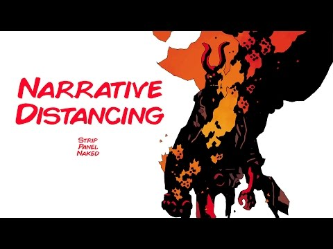 Narrative Distancing | Hellboy in Hell (2016) - Mike Mignola | Strip Panel Naked